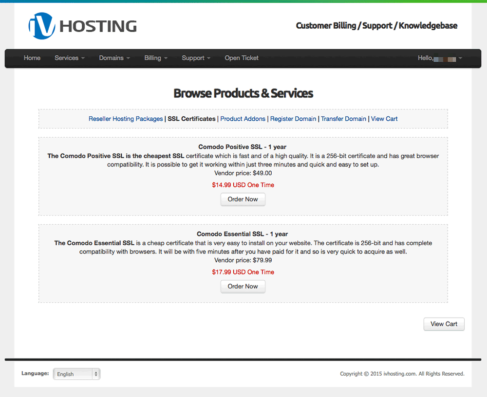 Ivhosting Kb Category Id2
