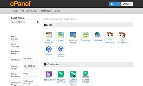 screen-cpanel